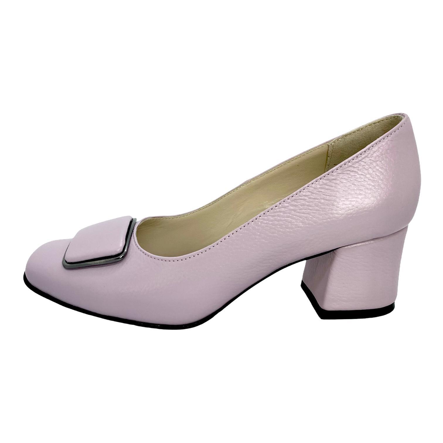 Pantofi liliac cu accesoriu