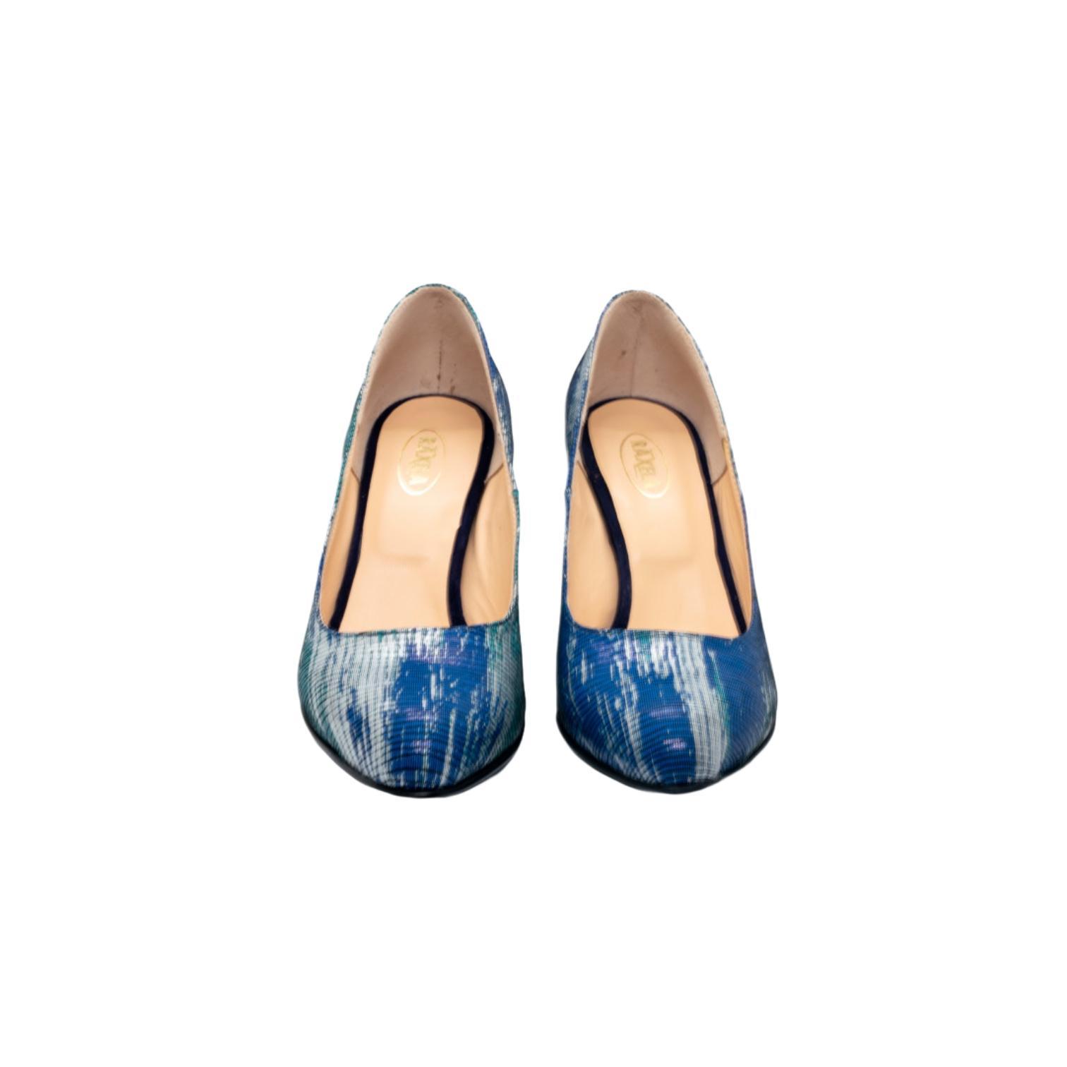 Pantofi albastri cosmo