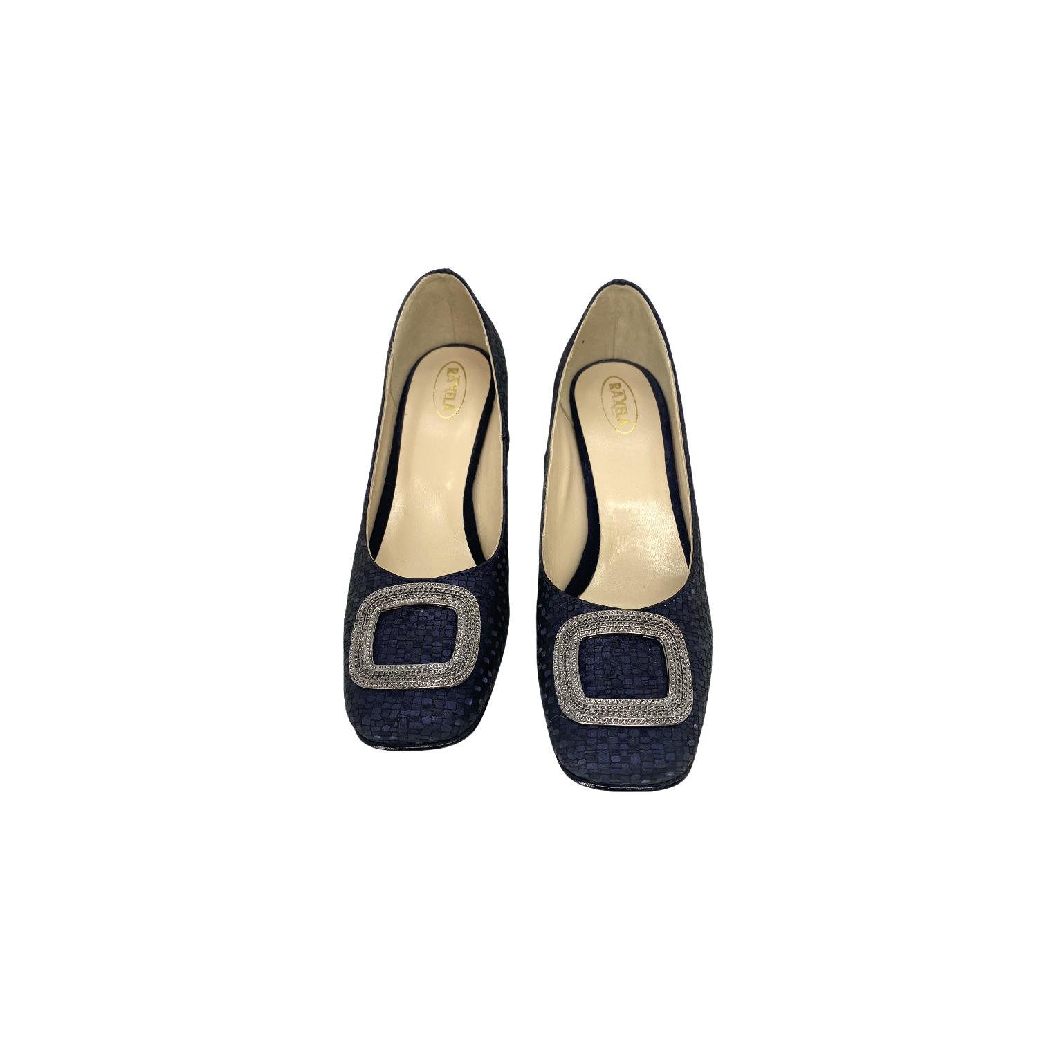 Pantofi bleumarin pixel