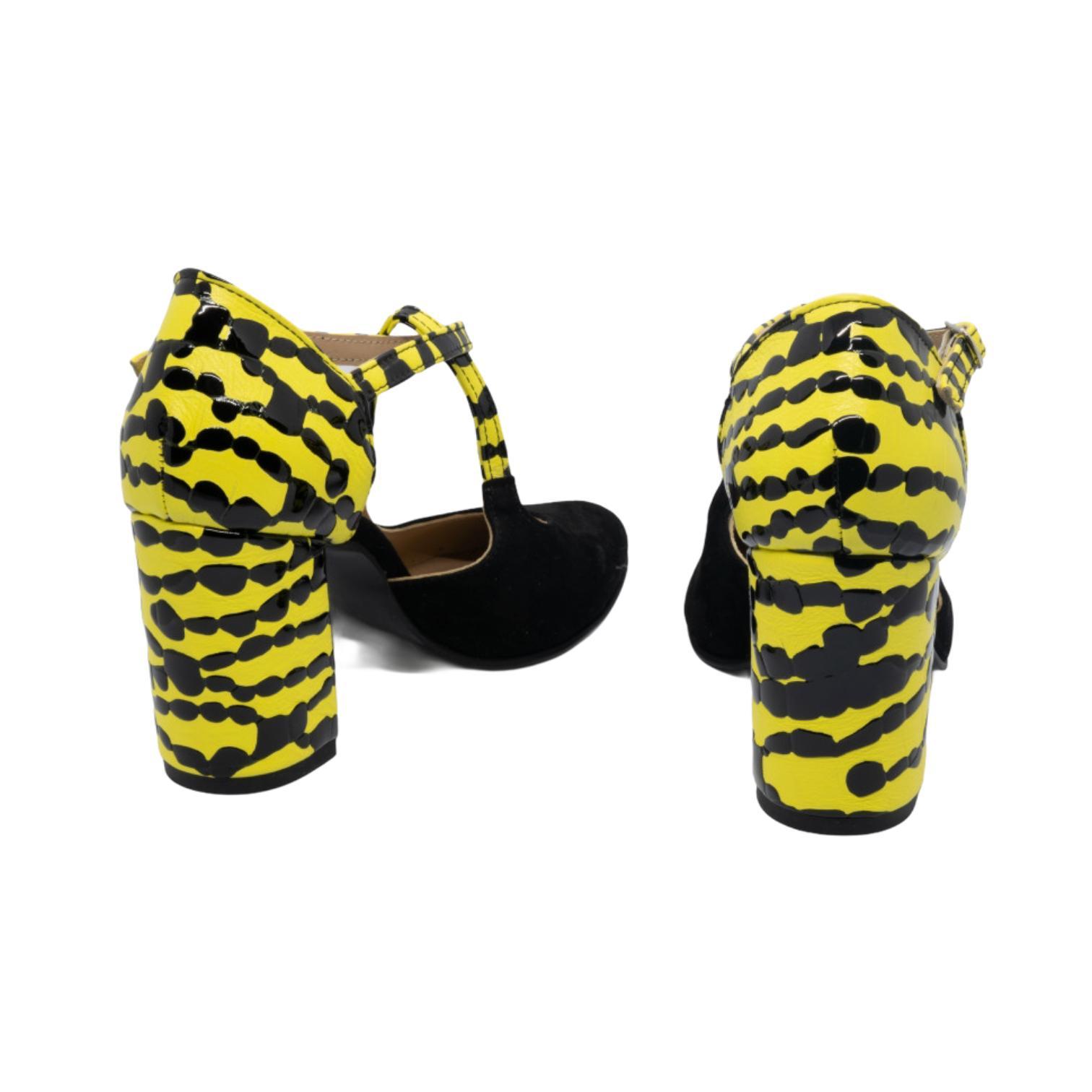 Pantofi decupati negri tip salamandra